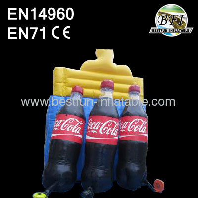 Inflatable Coca Cola Bottle Models for Advertising