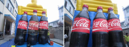 Inflatable Coca Cola Bottle Models