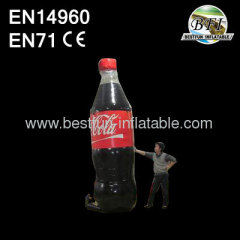 Inflatable Cocacola Bottle for Promotion