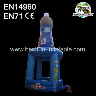 Advertising Inflatable Booth Bottles