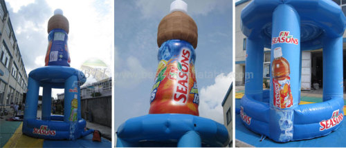 Advertising Bottles Inflatable with Booth
