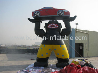 Advertising Inflatables Car Figures