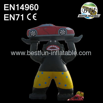 Advertising Car Figures Inflatables Cartoon