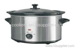 Electric oval Slow Cooker