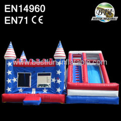 Bounce Castle Slide Combo
