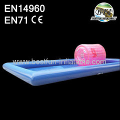 Blue Inflatable Swimming Pool for Waterball