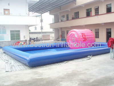 Blue Inflatable Ball Pool