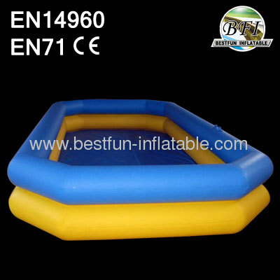 Double Ring Inflatable Swimming Water Pool