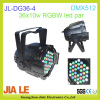 High power DMX RGBW 36x3W LED Effect Light