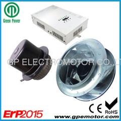 Costante flusso d'aria filtro ventilante CE ventola motore Velocità variabile per camera bianca