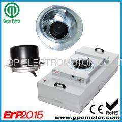 hoch effiziente 2'x 2' Fan Filter Einheiten EC-Motor mit variabler Geschwindigkeit für Reinraum