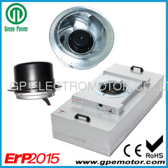 Energy saving 4'x4' FFU Fan EC motor by design