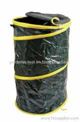Plastic garden waste pop up bag for collecting leaves