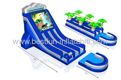 Waterfall Gaint Adult Water Slide