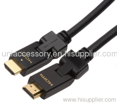 rotatable HDMI cable