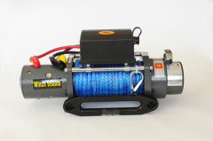 9500lb rope winch
