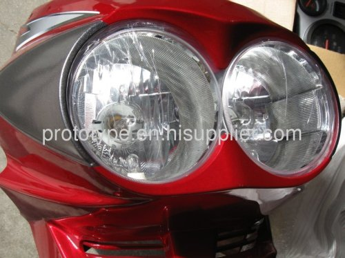Custom LED tail lights motorcycle shell