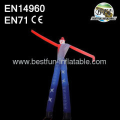 8m 2 pernas insufláveis Air Sky Dancer