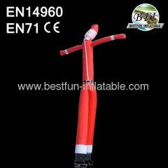 2 Legs Inflatable Santa Air Dancer