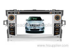 7 inch Toyota E'Z car dvd player with gps navigation,bluetooth,TV