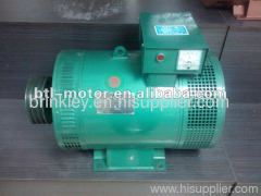 Three phase brush ac synchronous alternator dynamo
