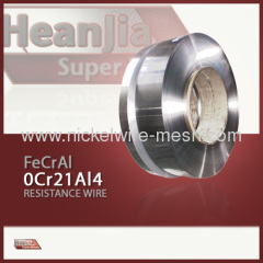 0Cr21Al4 alloy strip FeCrAl alloy strip