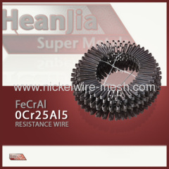 FeCrAl Heating Alloy 0Cr25Al5 Strip Ribbon 0Cr25Al5 Alloy