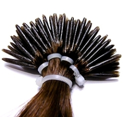 keration hair extension pre-bonded hair extension