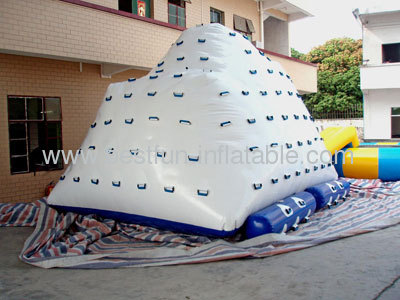 White Inflatable Iceberg Water Toy