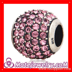 european Sterling Silver Crystal Beads