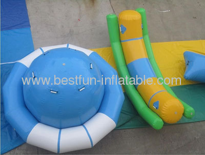 Inflatable Rocking Saturn and Inflatable Totter