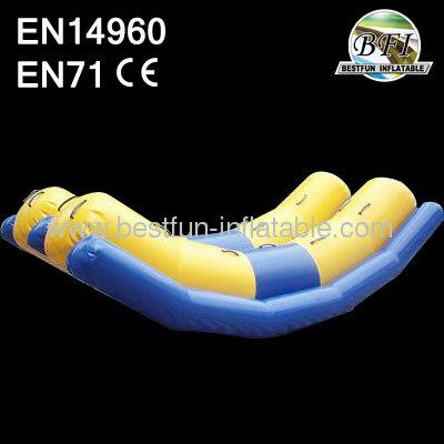 Inflatable Water Totter by 0.90mm PVC Tarpaulin