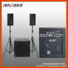 Active audio speaker subwoofer stage audio amplifier