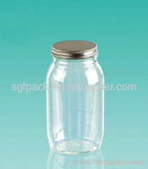 Pet Food Storage Container acrew cap and PET jar