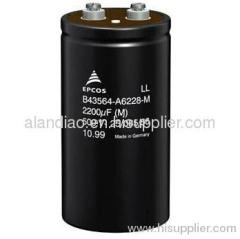 electrolytic capacitor