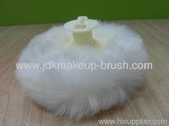 Plush powder puff supplier