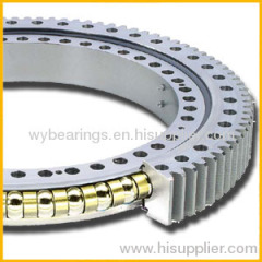 Four point contact ball slewing ring for Machine tool