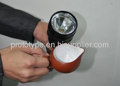 Custom LED flashlight