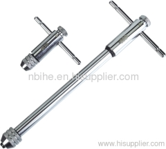 Germany quality Chrome plated ratchet tap wrench T-Handle Tap Wrenches - Ratchet Type