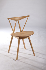 modern wooden reception meeting chairs