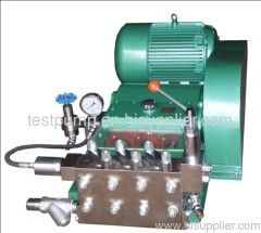 Hydrostatic pressure testing equipment/Pressure washer