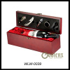 single botter wooden wine box with wine accessories for sale
