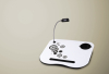 Portable Laptop Lap Cushion Tray Craft Desk Light