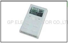 Intelligence remote control LCD room fan speed controller