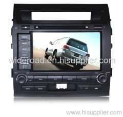 Special car dvd player for TOYOTA Land Cruiser Support Ipod TV Bluetooth