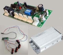 PWM variable speed EC Fan temperature controller