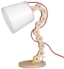 Lightingbird Fashion Desk Light Modern Wooden Table Lamp