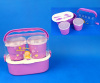 Plastic School Lunch Box With Handle
