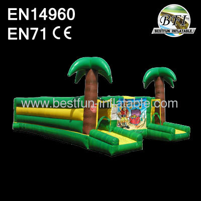 Outdoor Inflatable Equipment Tropical Maze