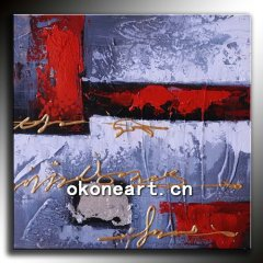 100% handmade abstract oil painting for decoration